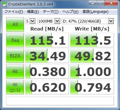HDD-speed