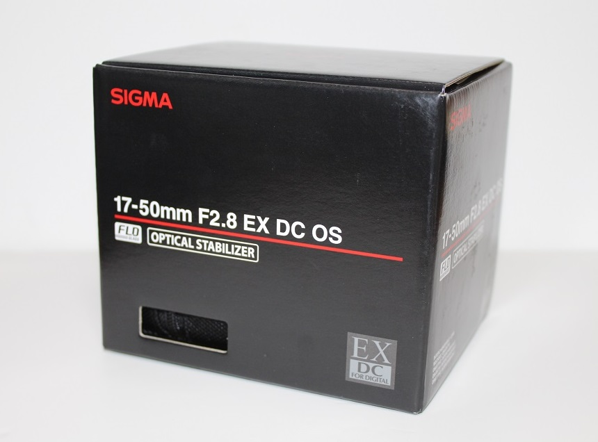 17-50mm F2.8 package