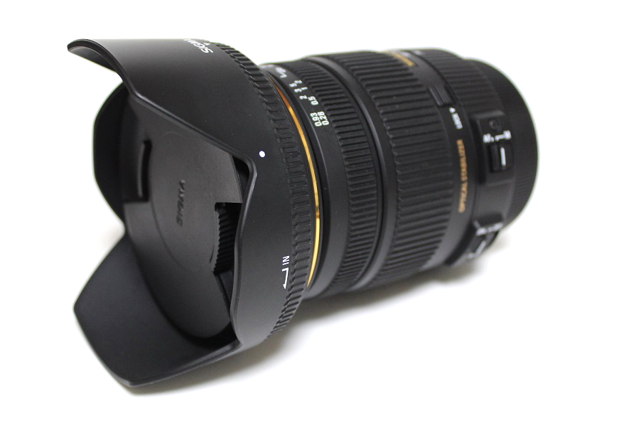 17-50mm F2.8 with hood