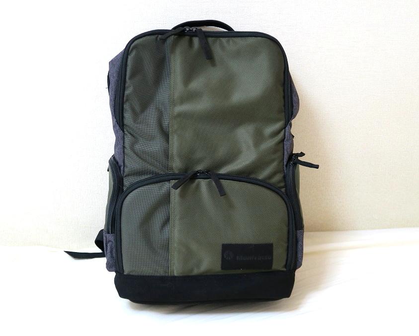 018399bfc2 ということで、今回紹介するのはマンフロットのカメラバッグ「Street バックパック」です。1泊2日程度の旅行には十分で便利なカメラバッグ でした(・∀・)